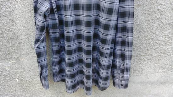 Givenchy $520 Givenchy Star Checked Rottweiler Shark Slim Fit Shirt size 44 (XL) Size US XL / EU 56 / 4 - 11