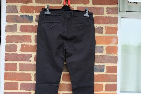 Balmain Black Zip Detail Chinos Size US 32 / EU 48 - 7