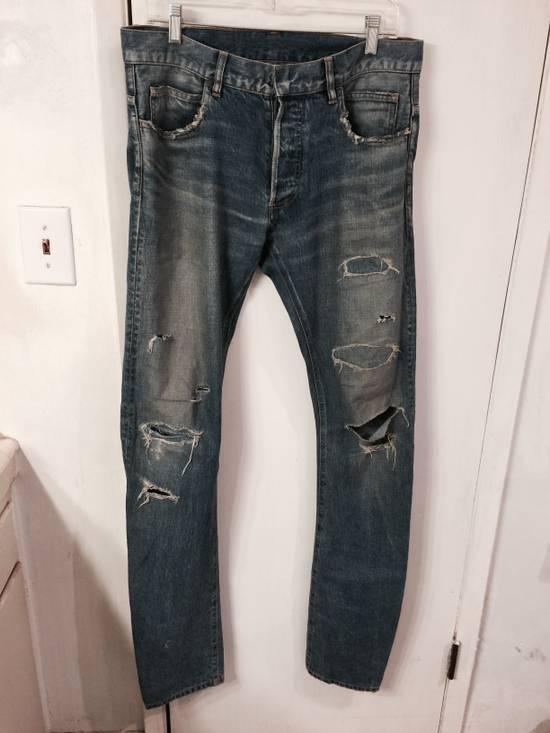 Balmain Distressed Jeans Size US 30 / EU 46