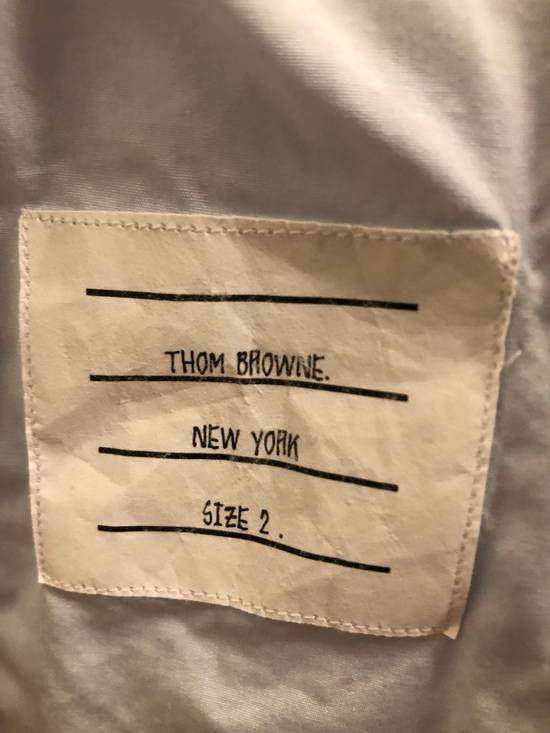 Thom Browne GROSGRAIN PLACKET SOLID POPLIN SHIRT Size US M / EU 48-50 / 2 - 3