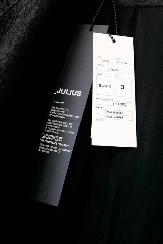 Julius DISTRESSED LEATHER JACKET Size US M / EU 48-50 / 2 - 3