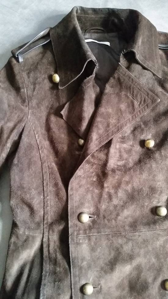 Saint Laurent Paris YSL by Tom Ford suede officer coat Size US S / EU 44-46 / 1 - 1