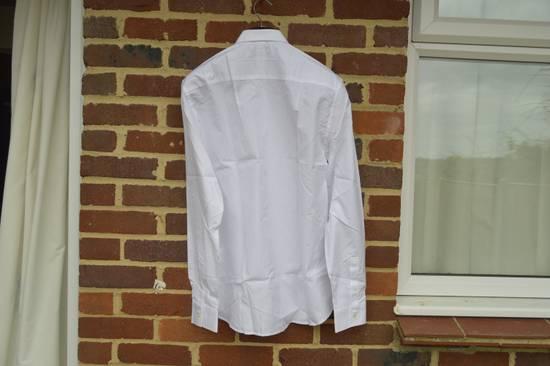 Givenchy White Metal Stars Collar Shirt Size US L / EU 52-54 / 3 - 9
