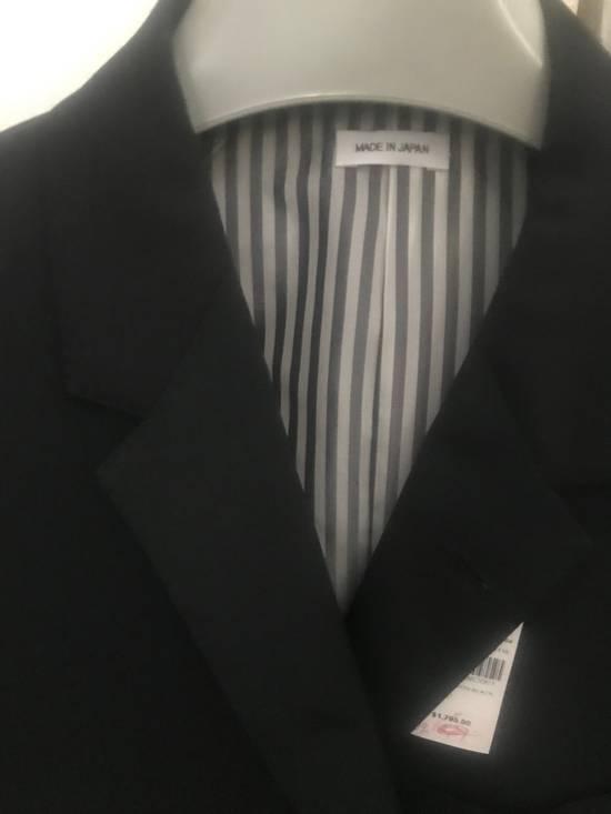 Thom Browne Black Blazer Jacket Size 38R - 1