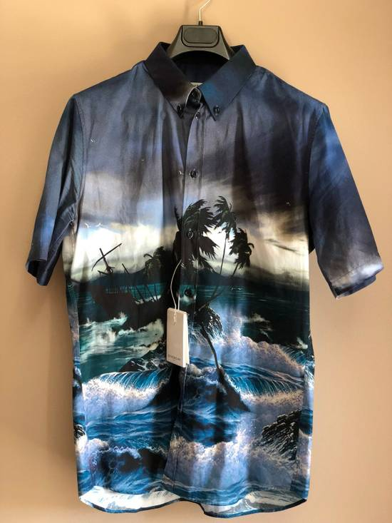 Givenchy Brand New Givenchy Short Sleeve Button Up Size US L / EU 52-54 / 3