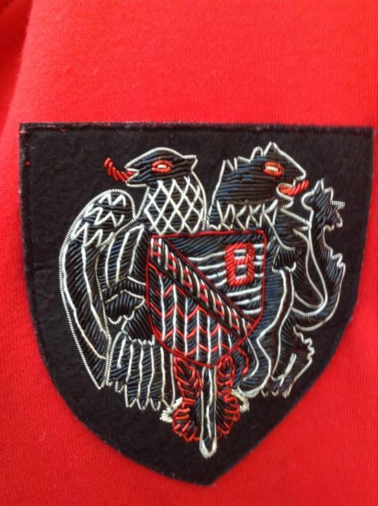 Balmain Dragon Crest Side Zip hoodie Red Size US M / EU 48-50 / 2 - 2