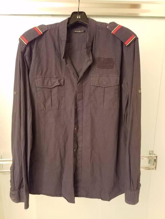 Balmain Black Casual Button Up Size US L / EU 52-54 / 3