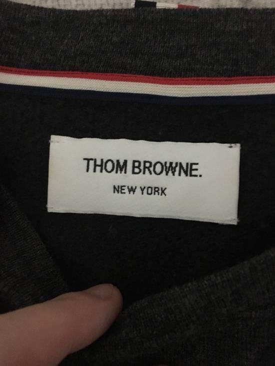Thom Browne Dark Charcoal Wool Blend Sweatshirt Size US S / EU 44-46 / 1 - 1