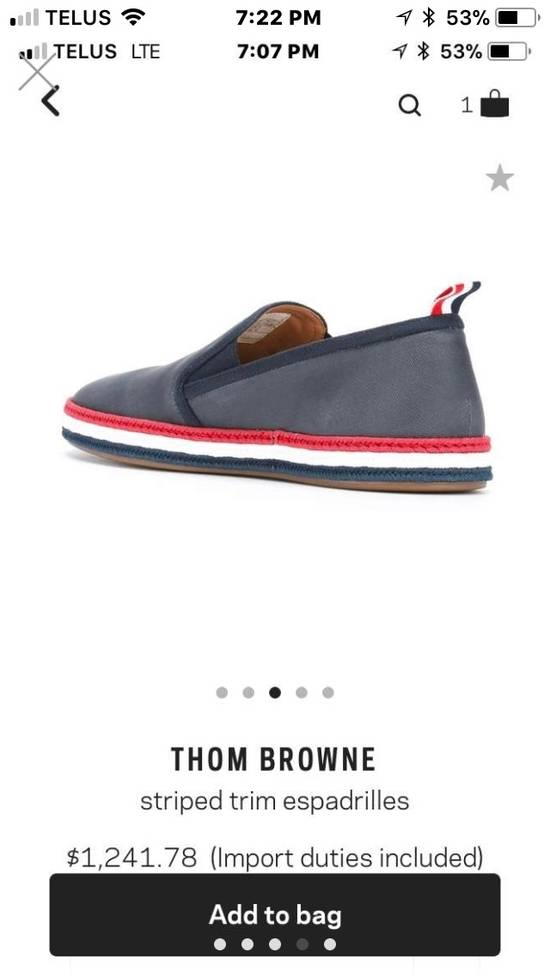 Thom Browne BRAND NEW Striped Trim Espadrilles Size US 10 / EU 43 - 2