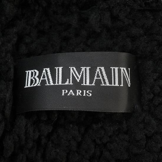 Balmain Balmain Leather Shearling Fur Parka Black Size Small 46-48 Coat Military Size US S / EU 44-46 / 1 - 6