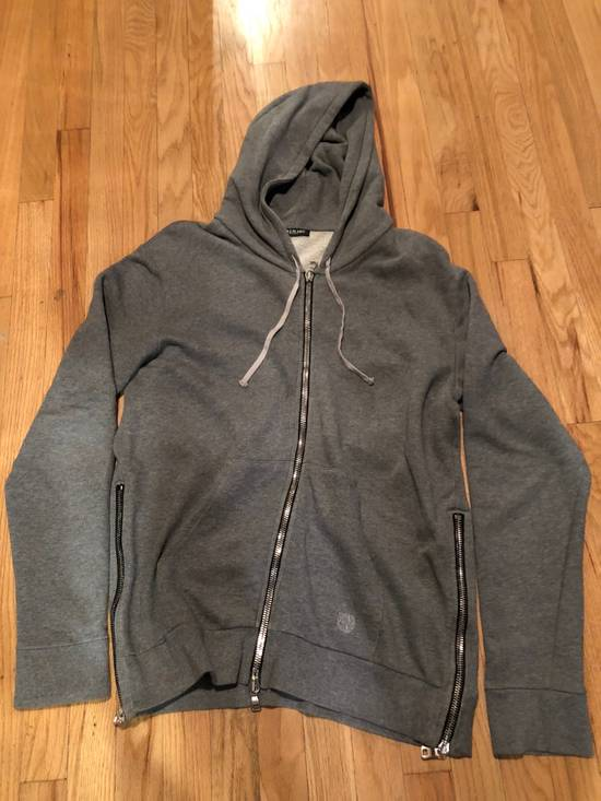 Balmain Balmain Sweatshirt Light Grey Zip Up Size US L / EU 52-54 / 3