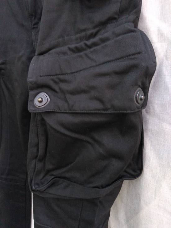 Julius FW09 Black Slim Gas Mask Cargo Pants Size US 30 / EU 46 - 4