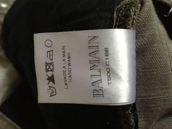 Balmain Balmain ss13 khaki denim biker Size US 32 / EU 48 - 10