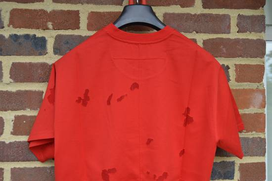Givenchy Red Destroyed Rottweiler T-shirt Size US M / EU 48-50 / 2 - 6