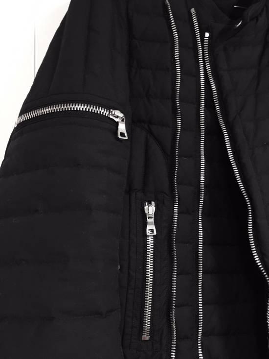 Balmain Quilted Puffer Moto Jacket Size US S / EU 44-46 / 1 - 3