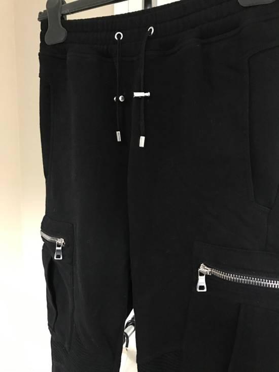 Balmain Black Cargo Pants Size US 28 / EU 44 - 2