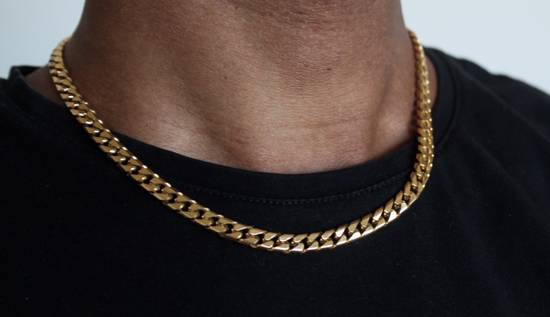 Givenchy Gold Plated Cuban-Link Necklace Size ONE SIZE