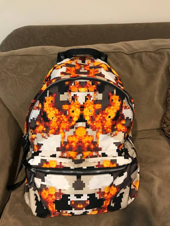 Givenchy ICONIC PRINT IN ORANGE BACKPACK Size ONE SIZE