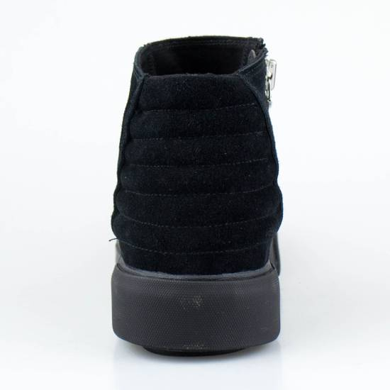 Julius 7 Black Cow Suede Leather Hi Top Sneakers Shoes Size US 11 / EU 44 - 3