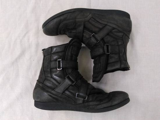 Julius Backzip Velcro Strap Leather Boots f/w11 Halo Size US 9 / EU 42 - 4