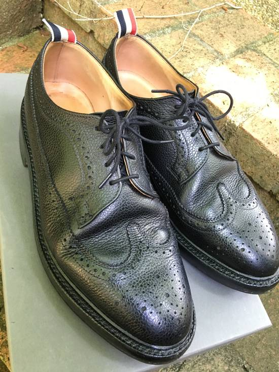 Thom Browne Pebble Grain Longwing Brogues - us 9 Size US 9 / EU 42