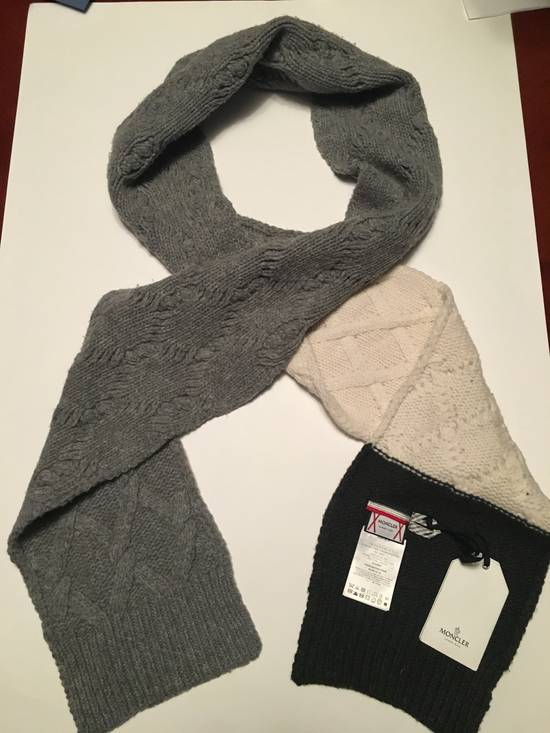 Thom Browne GAMME BLEU Cable Knit Long Wool Scarf Size ONE SIZE - 2
