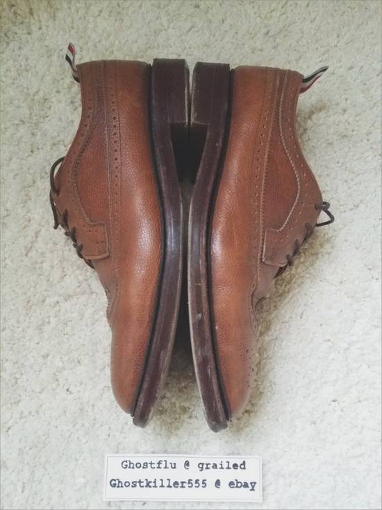 Thom Browne Thom Browne Classic Pull Tab Brown Leather Longwing Brogue Pebble Grain Size 11 Size US 11 / EU 44 - 3