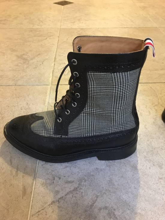 Thom Browne Prince Of Wales Check Boots Size US 7 / EU 40 - 3