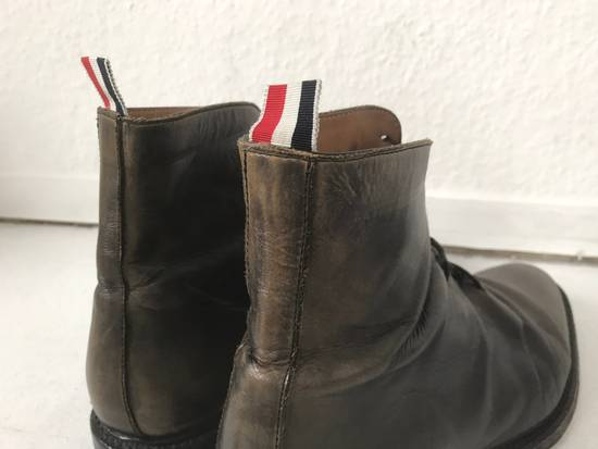 Thom Browne LIMITED THOM BROWNE Distressed Boots, Size 45 Grey Size US 10.5 / EU 43-44 - 4