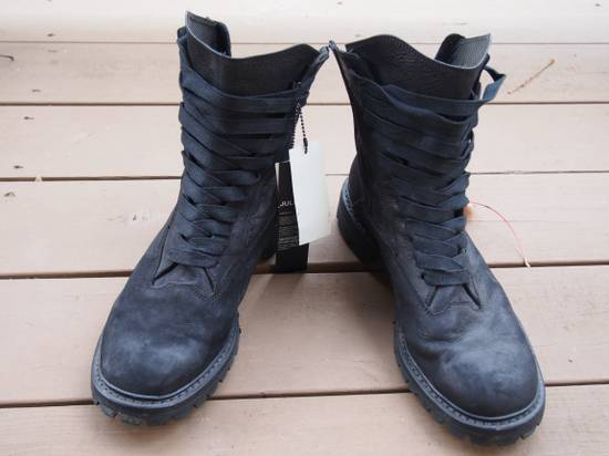 Julius Nubuck Combat boot size 4 Size US 13 / EU 46