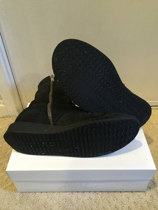 Rick Owens Blistered Combat Boots Size 9 Boots For Sale
