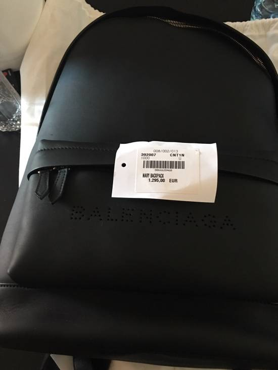 Balmain Backpack Size ONE SIZE