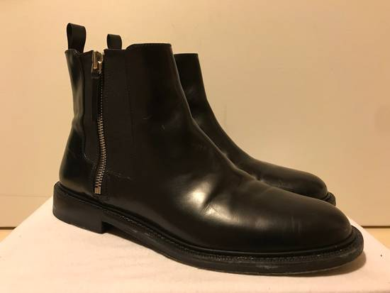 Givenchy Black Leather Chelsea Boots Size US 11 / EU 44 - 2
