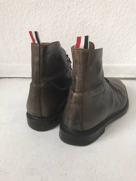 Thom Browne LIMITED THOM BROWNE Distressed Boots, Size 45 Grey Size US 10.5 / EU 43-44 - 3