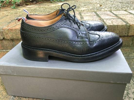 Thom Browne Pebble Grain Longwing Brogues - us 9 Size US 9 / EU 42 - 4