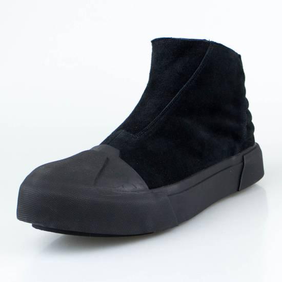Julius 7 Black Cow Suede Leather Hi Top Sneakers Shoes Size US 11 / EU 44 - 1