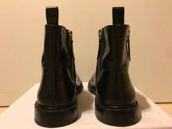 Givenchy Black Leather Chelsea Boots Size US 11 / EU 44 - 3