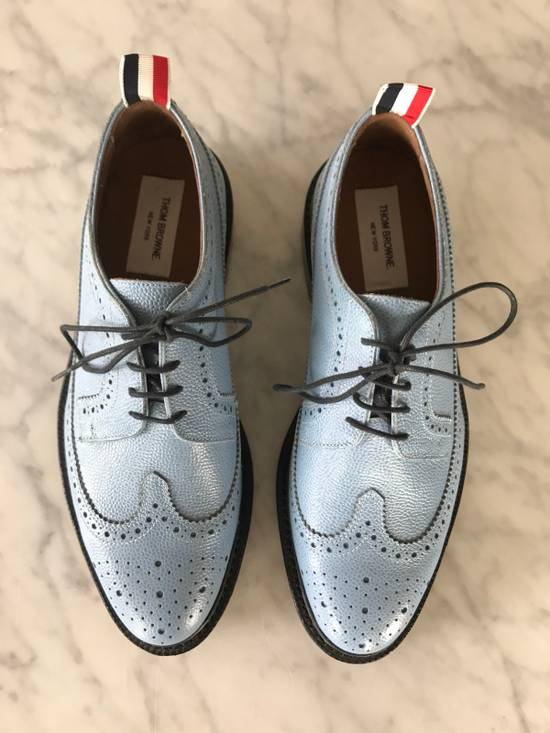 Thom Browne Brand New $1600 Thom Browne Oxford Classic Iconic Baby Blue Casual Chic Size US 8 / EU 41 - 3