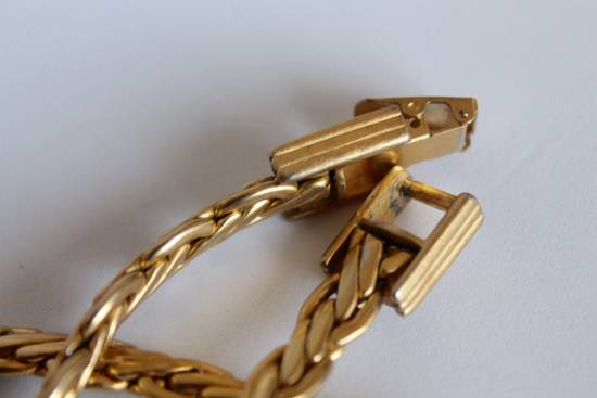 Givenchy Gold Plated Flat Wheat-Link Chain Size ONE SIZE - 4