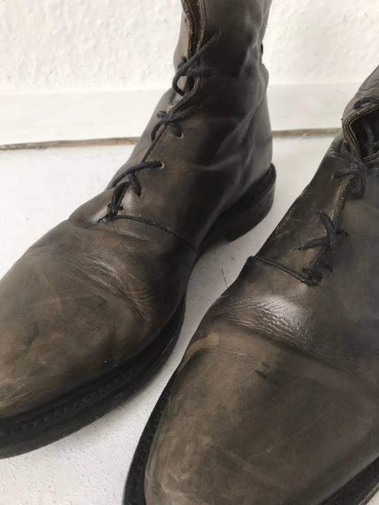 Thom Browne LIMITED THOM BROWNE Distressed Boots, Size 45 Grey Size US 10.5 / EU 43-44 - 1