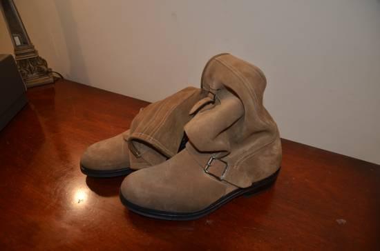 Balmain Caramel Engineer Boots BNIB; vibram sole Size US 9 / EU 42 - 2
