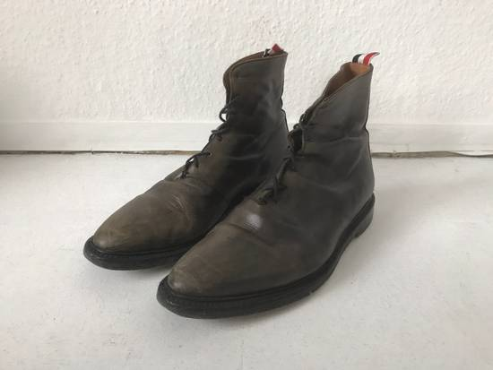 Thom Browne LIMITED THOM BROWNE Distressed Boots, Size 45 Grey Size US 10.5 / EU 43-44