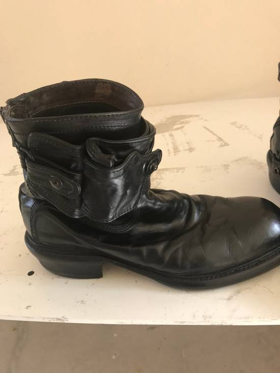 Julius AW12 gas mask removable gun holster boots Size US 9.5 / EU 42-43 - 2