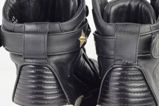 Givenchy Givenchy Black Leather High Tops Size 41 Size US 8 / EU 41 - 13