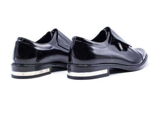 Givenchy Givenchy Mens Richelieu Metal Heel Black Leather Oxfords Size US 11 / EU 44 - 2