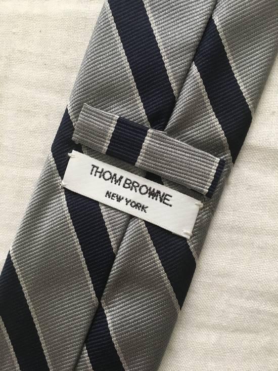 Thom Browne Silk Prep Stripe Tie Size ONE SIZE - 2