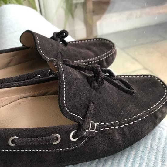 Balmain Balmain Brown Suede Driving Loafers Size US 8.5 / EU 41-42 - 1