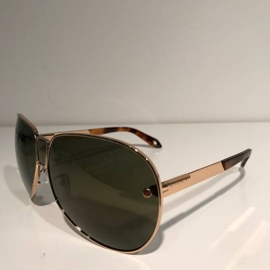 Givenchy Givenchy Gold Aviator Sunglasses Size ONE SIZE - 1