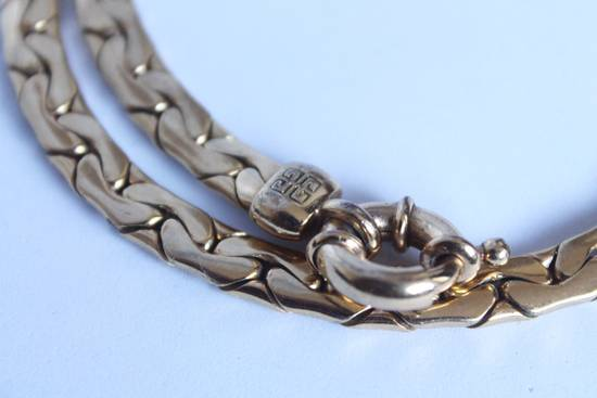 Givenchy Gold Plated Flat Cuban-Link Chain Size ONE SIZE - 2
