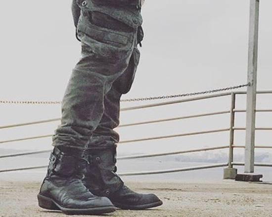 Julius AW12 gas mask removable gun holster boots Size US 9.5 / EU 42-43 - 21